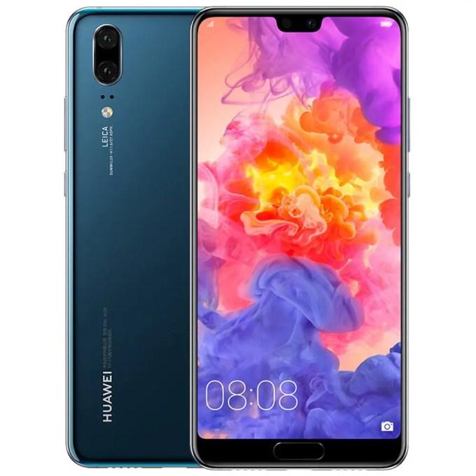 geekbuying Huawei P20 (EML-AL00) Kirin 970 2.4GHz 8コア BLUE(ブルー)