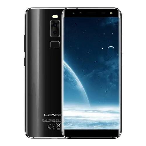 geekbuying LEAGOO S8 MTK6750T 1.5GHz 8コア BLACK(ブラック)