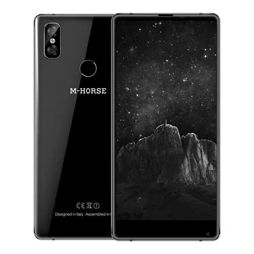 geekbuying M-HORSE Pure 2 MTK6750T 1.5GHz 8コア BLACK(ブラック)