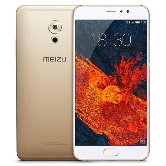 geekbuying MEIZU Pro 6 Plus EXYNOS 8890 2.0GHz 8コア GOLD(ゴールド)