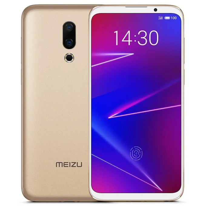 geekbuying Meizu 16X Snapdragon 710 2.2GHz 8コア GOLD(ゴールド)