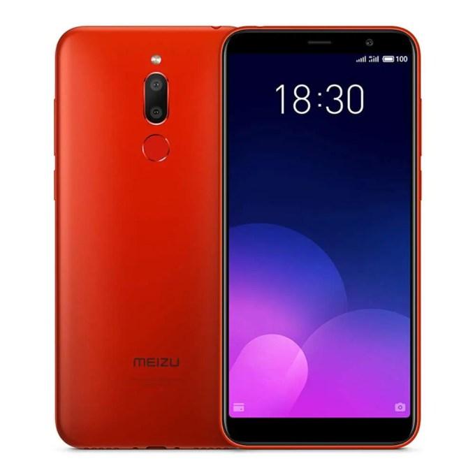geekbuying Meizu 6T MTK6750 1.5GHz 8コア RED(レッド)