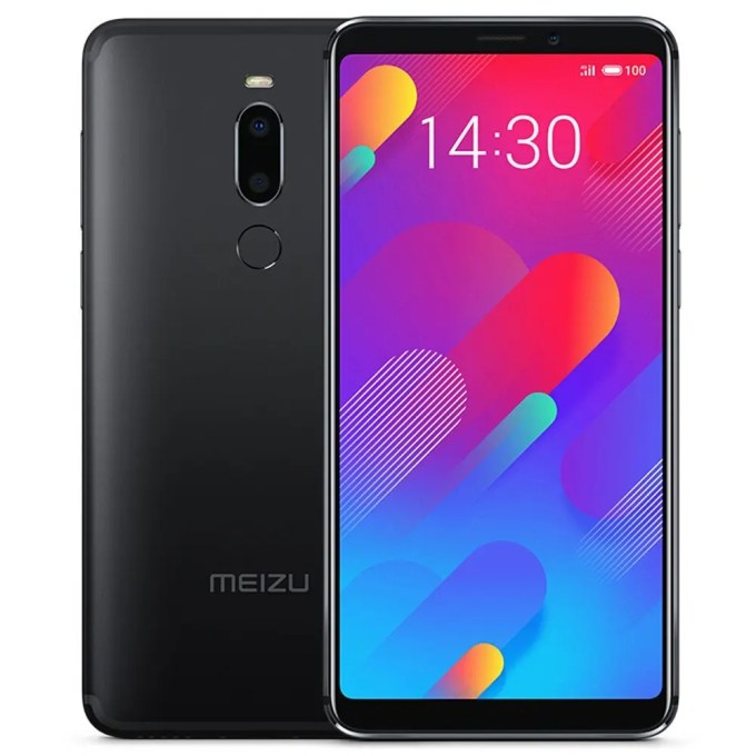 geekbuying Meizu V8 MTK6739 1.5GHz 4コア BLACK(ブラック)