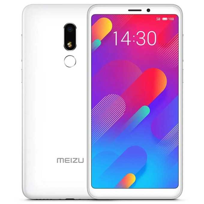 geekbuying Meizu V8 MTK6739 1.5GHz 4コア WHITE(ホワイト)