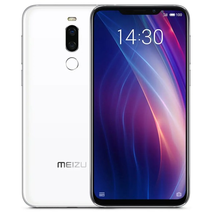 geekbuying Meizu X8 Snapdragon 710 2.2GHz 8コア WHITE(ホワイト)