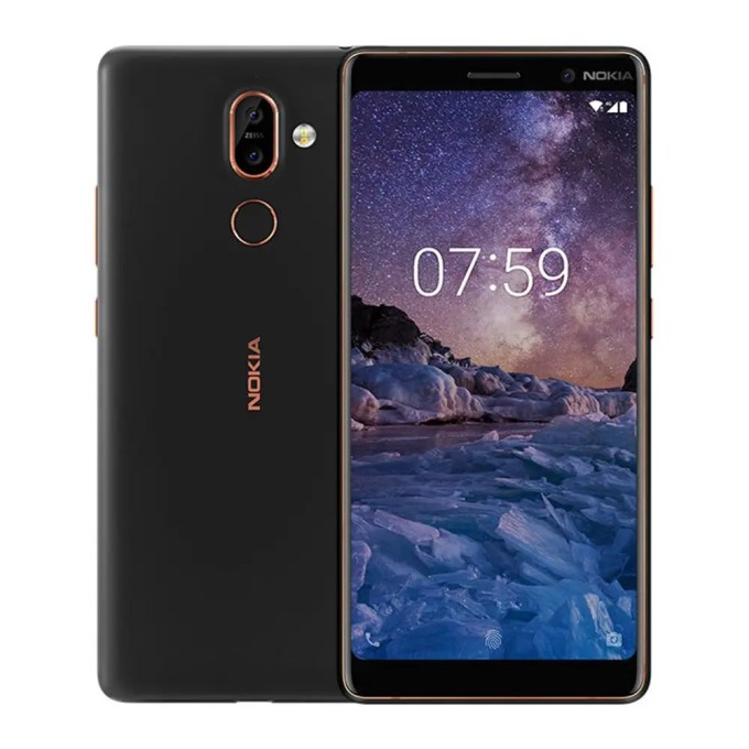 geekbuying Nokia 7 Plus Snapdragon 660 MSM8956 Plus 2.2GHz 8コア SILVER(シルバー)