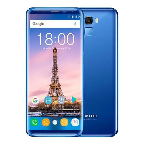 geekbuying Oukitel K5000 MTK6750T 1.5GHz 8コア BLUE(ブルー)