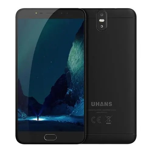 geekbuying UHANS Max 2 MTK6750T 1.5GHz 8コア BLACK(ブラック)