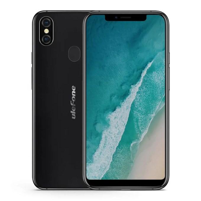 geekbuying Ulefone X MTK6763 Helio P23 2.0GHz 8コア BLACK(ブラック)