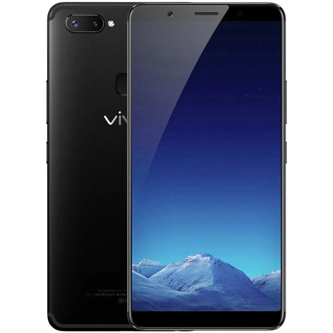 geekbuying vivo X20 Snapdragon 660 MSM8956 Plus 2.2GHz 8コア BLACK(ブラック)
