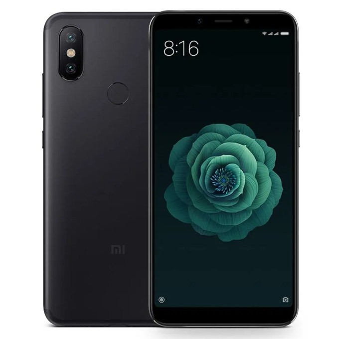 geekbuying Xiaomi Mi A2 Snapdragon 660 MSM8956 Plus 2.2GHz 8コア BLACK(ブラック)