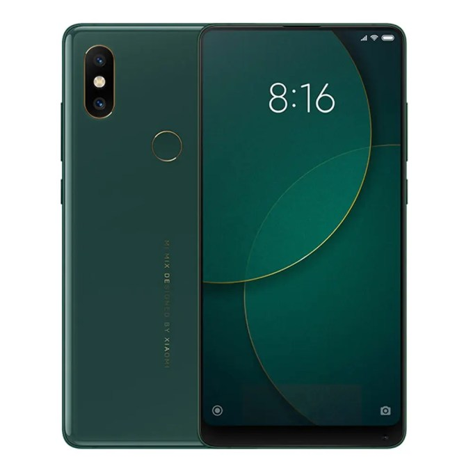 geekbuying Xiaomi Mi Mix 2S Snapdragon 845 SDM845 2.8GHz 8コア GREEN(グリーン)