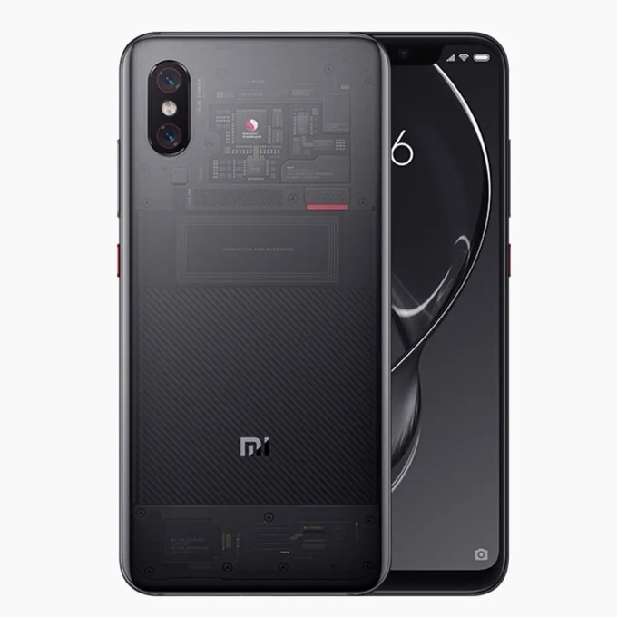 geekbuying Xiaomi Mi8 Snapdragon 845 SDM845 2.8GHz 8コア BLACK(ブラック)