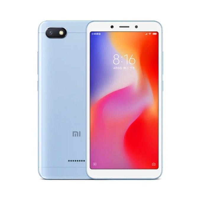 geekbuying Xiaomi Redmi 6A MTK6765 Helio A22 2.0GHz 4コア BLUE(ブルー)