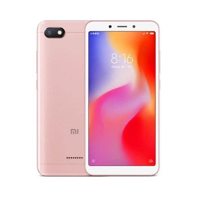 geekbuying Xiaomi Redmi 6A MTK6765 Helio A22 2.0GHz 4コア PINK(ピンク)