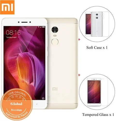 geekbuying Xiaomi Redmi Note 4 MTK6797 Helio X20 2.1GHz 10コア GOLD(ゴールド)
