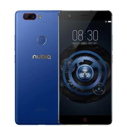 geekbuying Nubia Z17 Lite Snapdragon 653 MSM8976SG 1.8GHz 8コア BLUE(ブルー)