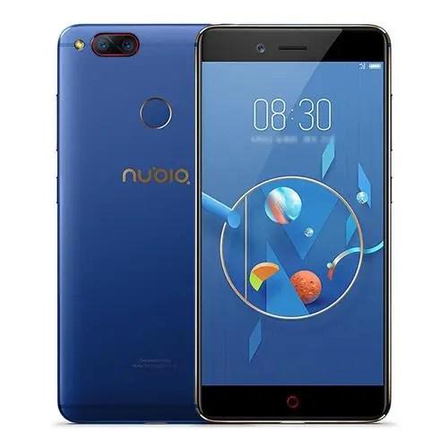 geekbuying Nubia Z17 Mini Snapdragon 652 MSM8976 1.8GHz 8コア BLUE(ブルー)