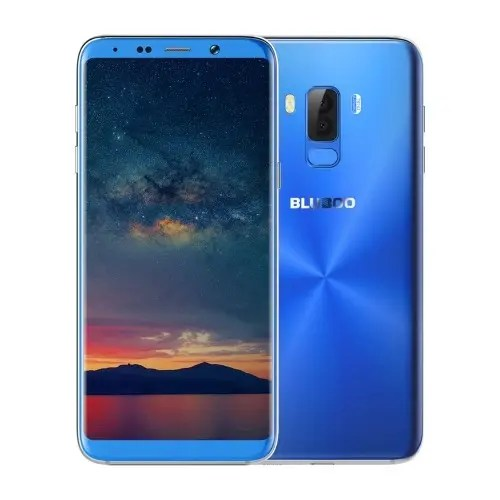 tomtop Bluboo S8 pro MTK6750T 1.5GHz 8コア BLUE(ブルー)