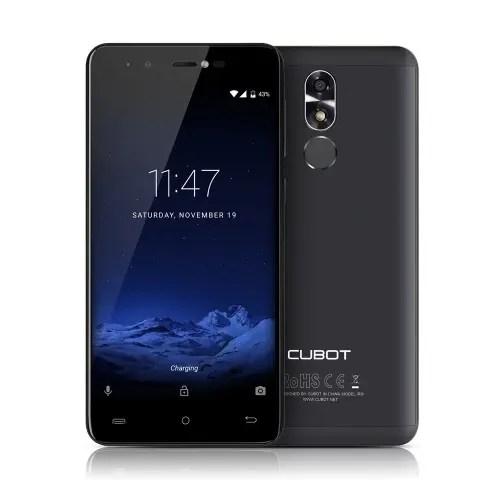 tomtop CUBOT R9 3G MTK6580 1.3GHz 4コア BLACK(ブラック)