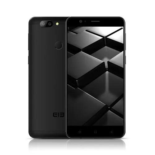 tomtop ELEPHONE P8 Mini MTK6750T 1.5GHz 8コア BLACK(ブラック)