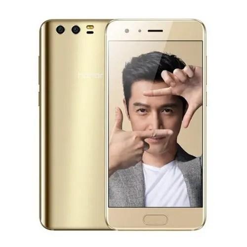 tomtop HUAWEI Honor 9 Kirin 960 2.4GHz 8コア GOLD(ゴールド)