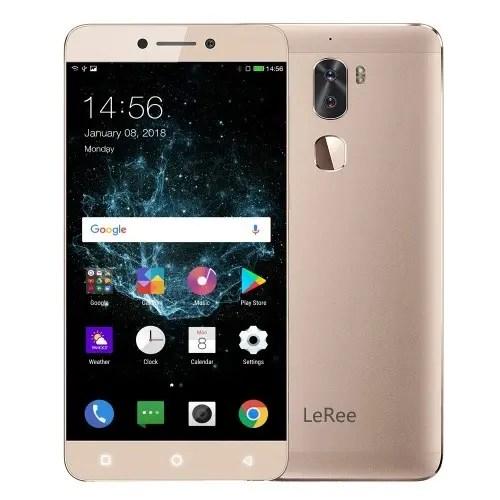 tomtop Letv LeRee Le 3 Snapdragon 652 MSM8976 1.8GHz 8コア GOLD(ゴールド)