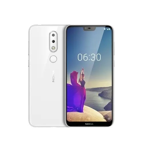 tomtop NOKIA X6 Snapdragon 636 SDM636 8コア WHITE(ホワイト)