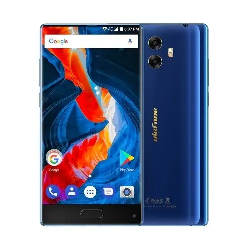 tomtop Ulefone Mix MTK6750T 1.5GHz 8コア BLUE(ブルー)