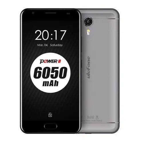 tomtop Ulefone Power 2 MTK6750T 1.5GHz 8コア GRAY(グレイ)