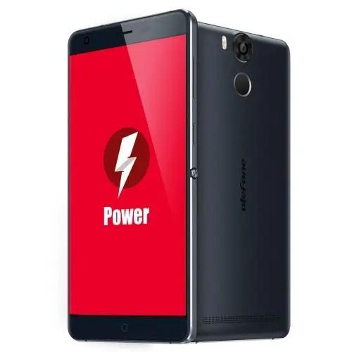 tomtop Ulefone Power MTK6753 1.3GHz 8コア BLUE(ブルー)