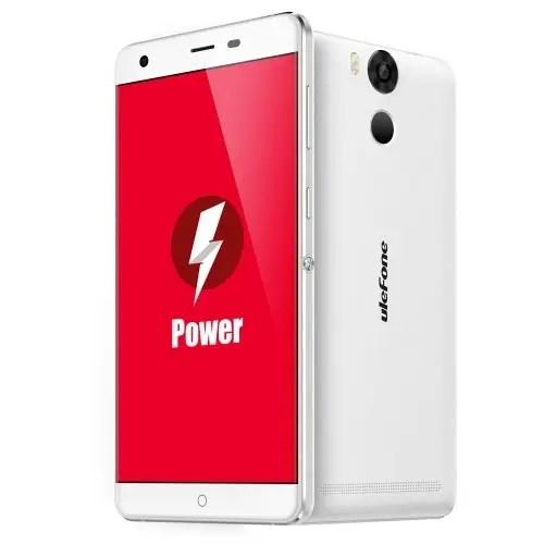tomtop Ulefone Power MTK6753 1.3GHz 8コア WHITE(ホワイト)