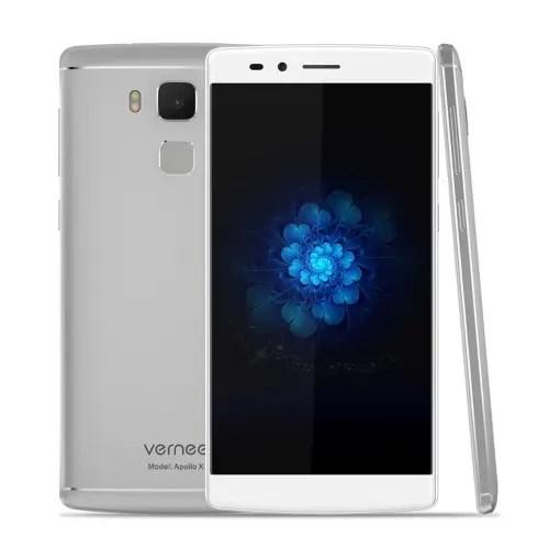 tomtop Vernee Apollo X MTK6797 Helio X20 2.3GHz 10コア WHITE(ホワイト)