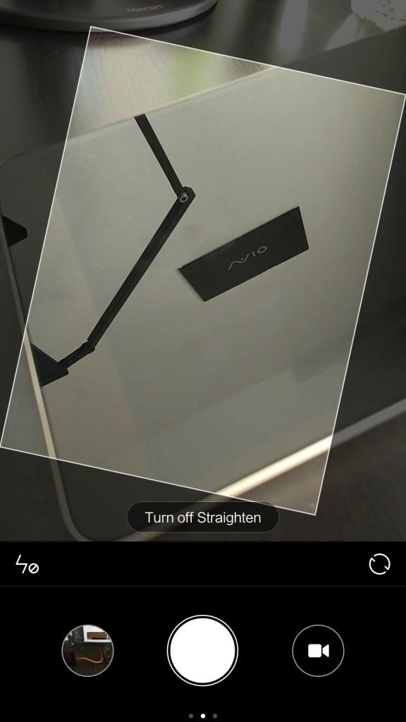 Straighten:水平調整