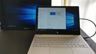 【まさかの仕様】Xiaomi notebook Air 12はDisplayPort over USB-C対応だった!ASUS MB169C+と接続可