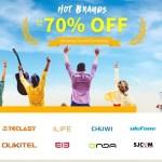 【GearBest】Hot Brands 最大70%OFFキャンペーン
