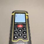 Fixkit レーザー距離計 LCDデジタル表示バックライト付きMax60m TL-D1  距離計測が楽しい♪