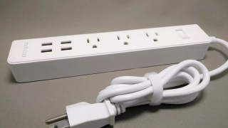 【dodocool】電源タップ コンセント3個+電源専用USB 4ポートMax5V4A レビュー★25%オフクーポン付き!