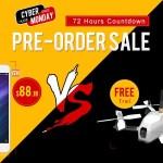 【Banggood】サイバーマンデー 4機種クーポンセール ZTE Nubia Z7が$60引き
