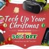 【Banggood】クリスマス 中華タブレット6機種 クーポン第一弾 最大20%オフ