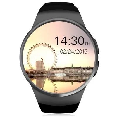 KingWear KW18 Smartwatch Phone  -  BLACK