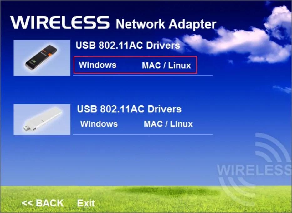 dodocool AC1200デュアルバンド USB3.0 Wi-fiアダプタ ドライバ