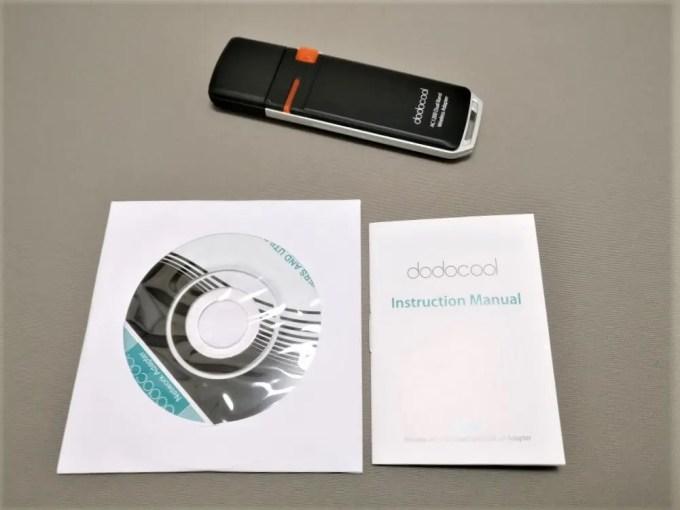dodocool AC1200デュアルバンド USB3.0 Wi-fiアダプタ セット