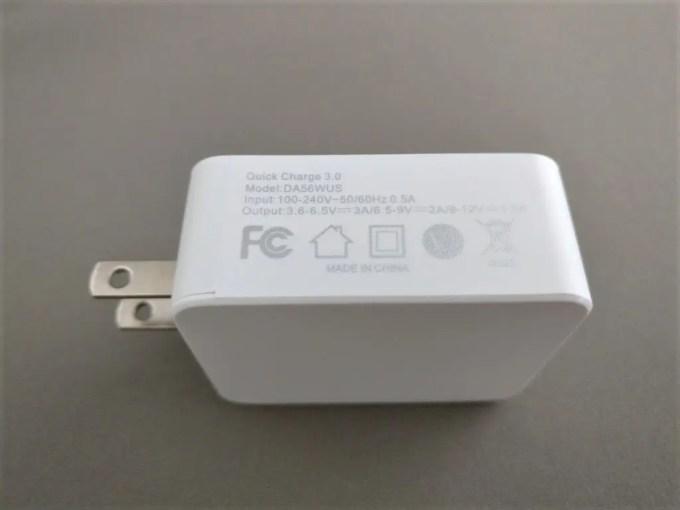 dodocool USBアダプタ 5V3A