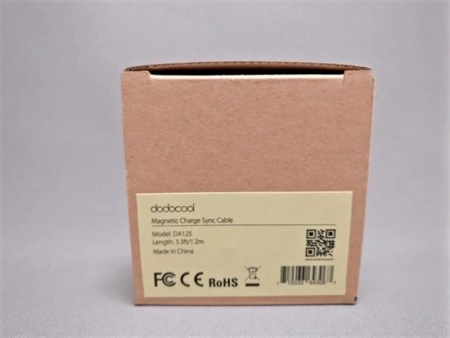 dodcool MicroUSBマグネットケーブル 化粧箱