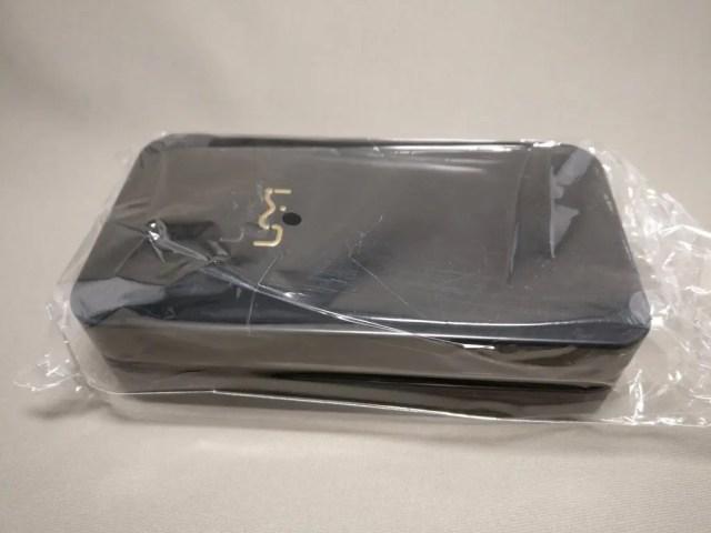 UMI Z 化粧箱 缶ペンケース ビニールに入ってた