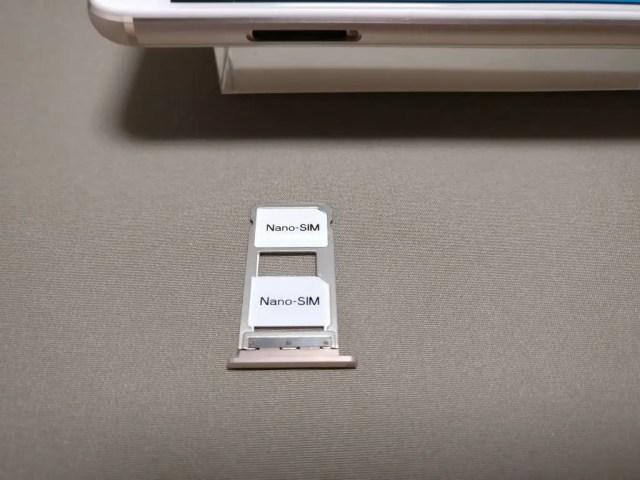 UMI Z SIMスロット NanoSIM2枚装着