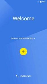 UMI Z 初期設定 welcome