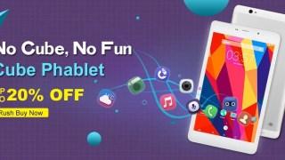 【Banggood】CUBE 3G or 4G付きファブレットと、CUBEほぼ全機種セール