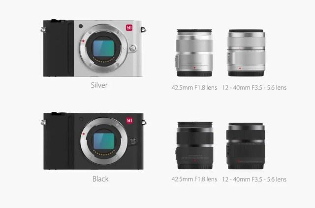 Xiaomi Yi Digital Camera M1 商品画像 平置き